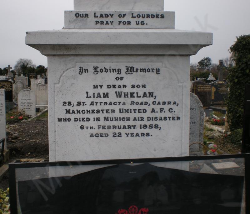 Liam Whelan Grave