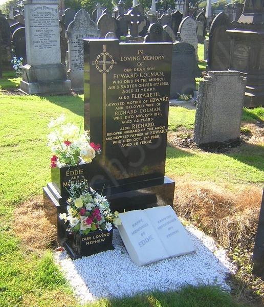 Eddie Colman Grave