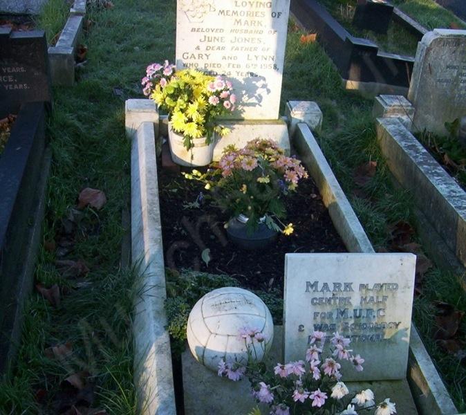Mark Jones Grave