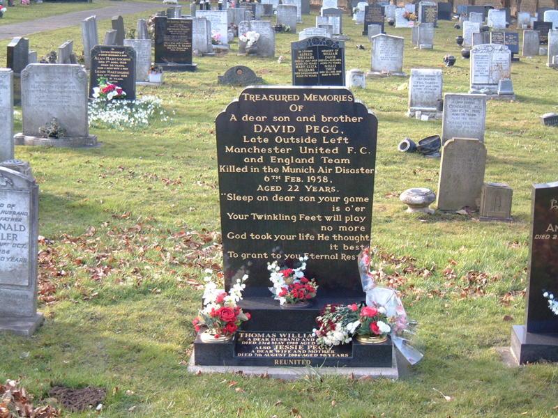 David Pegg Grave